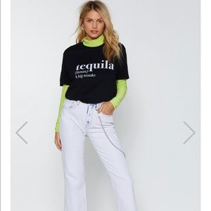 Nasty Gal The Definition Of Tequila Graphic Tee